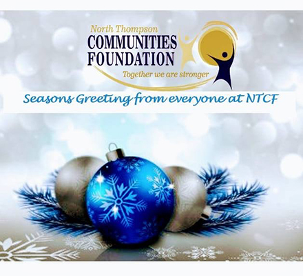 Seasons Greetings from everyone at NTCF
