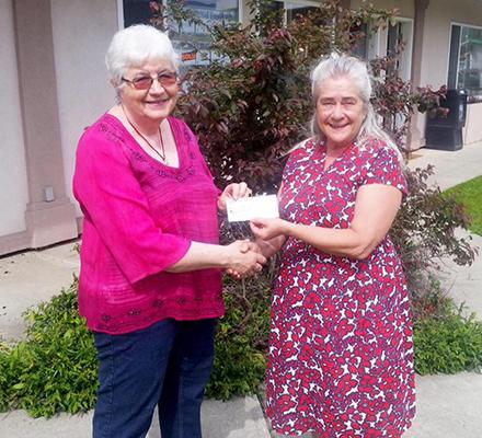Jill & Cheryl Thomas $3000 grant