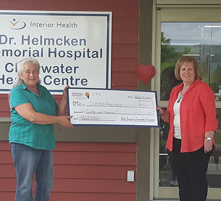 Award to Dr Helmcken Memorial Hospital