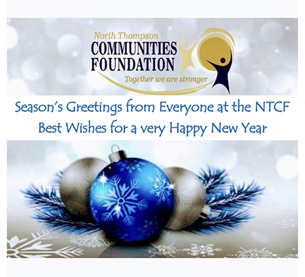 Season's Greetings from Everyone at the NTCF